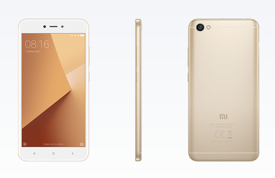 Xiaomi Redmi Note 5A llega a México con Telcel