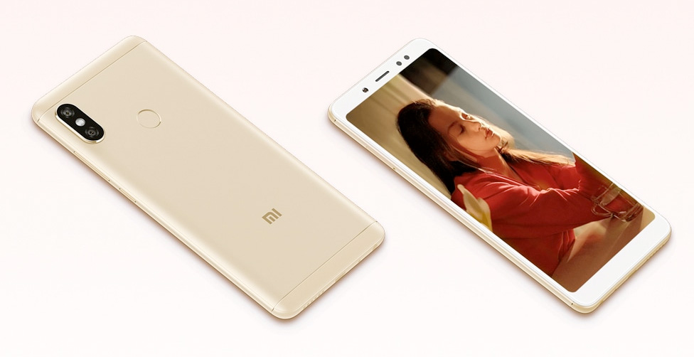 Xiaomi Redmi Note 5 diseño exterior con pantalla a 18:9