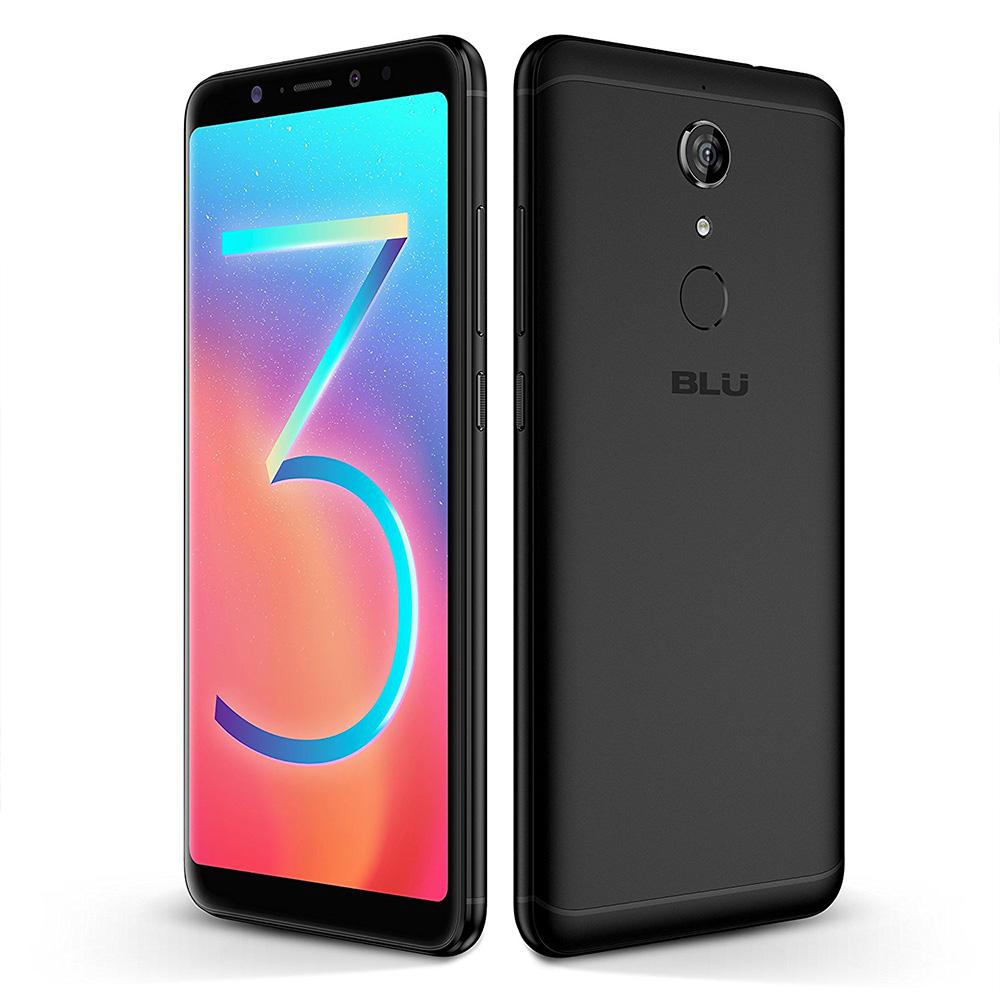 """Blu Vivo XL3 pantalla de 6"""" a 18:9 HD+ y cuerpo delgado con vidrio curvo casi sin biseles"""
