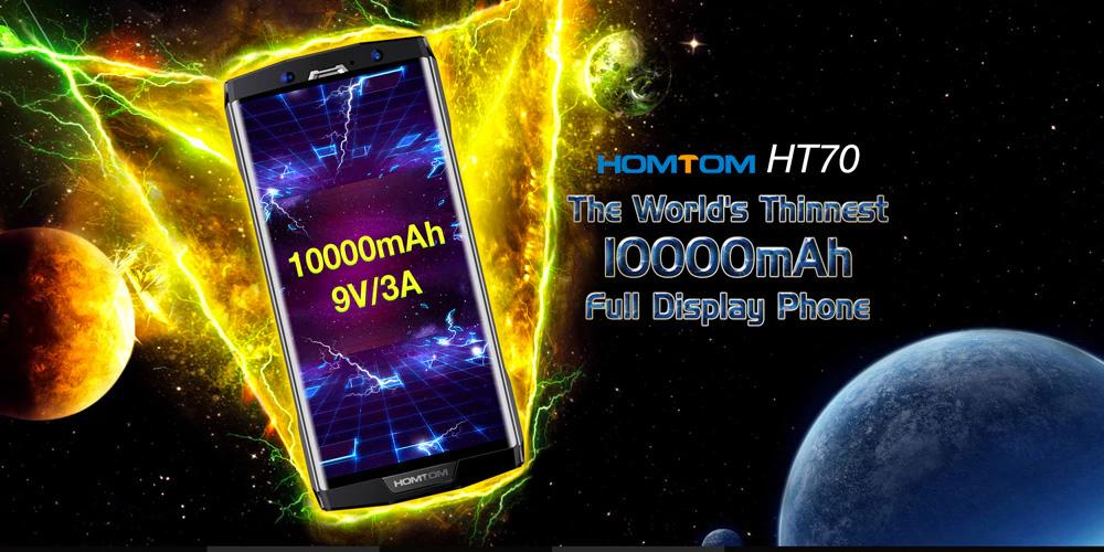 HOMTOM HT70 4G con batería de 10,000 mAh
