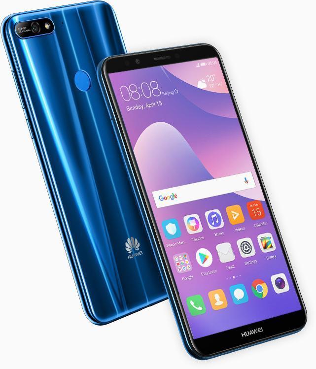 Huawei Y7 2018 con Android 8 Oreo y EMUI 8.0