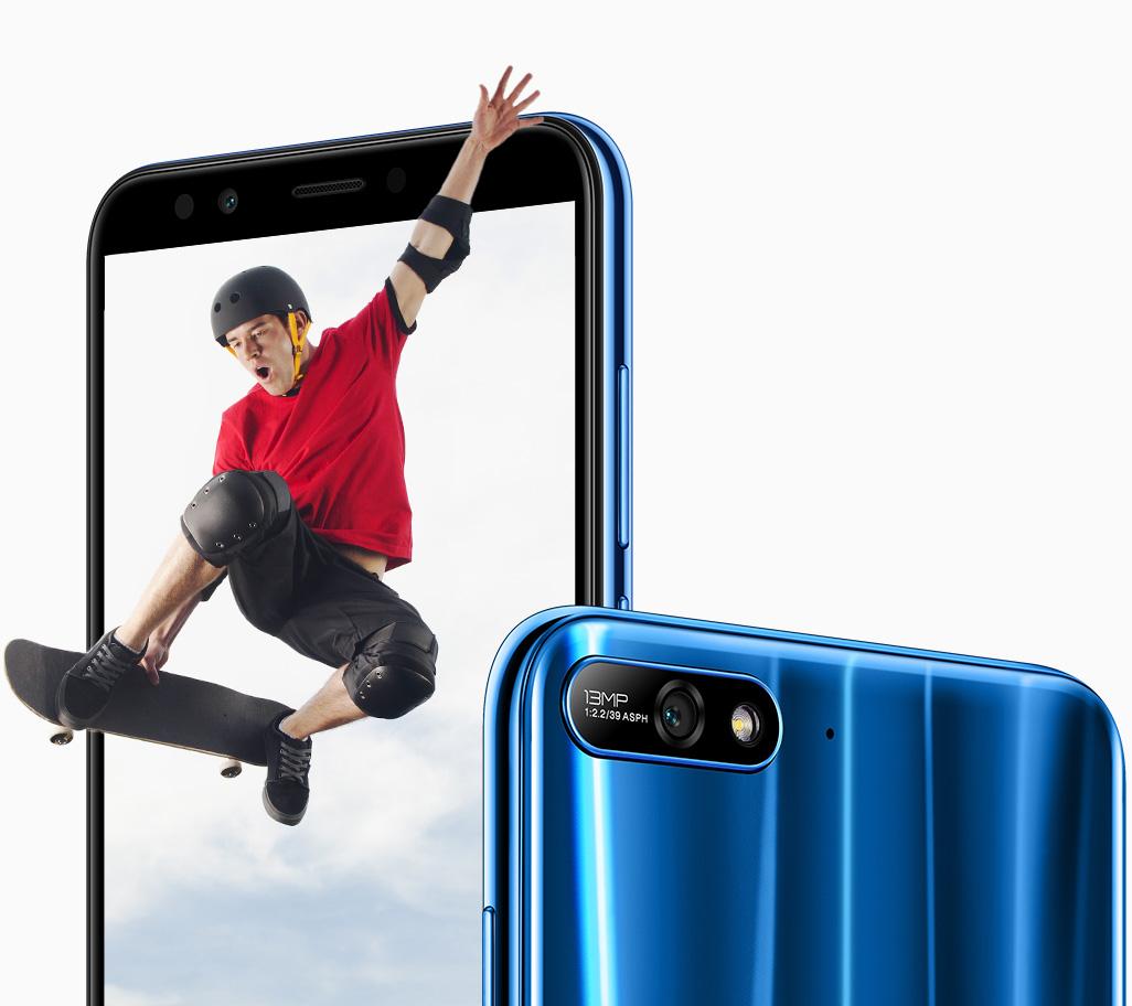 Huawei Y7 2018 pantalla y cámara