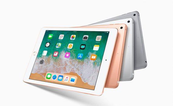 iPad 9.7 2018 colores