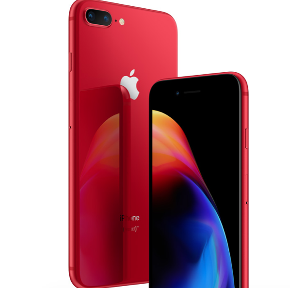 iPhone rojo (PRODUCT)RED