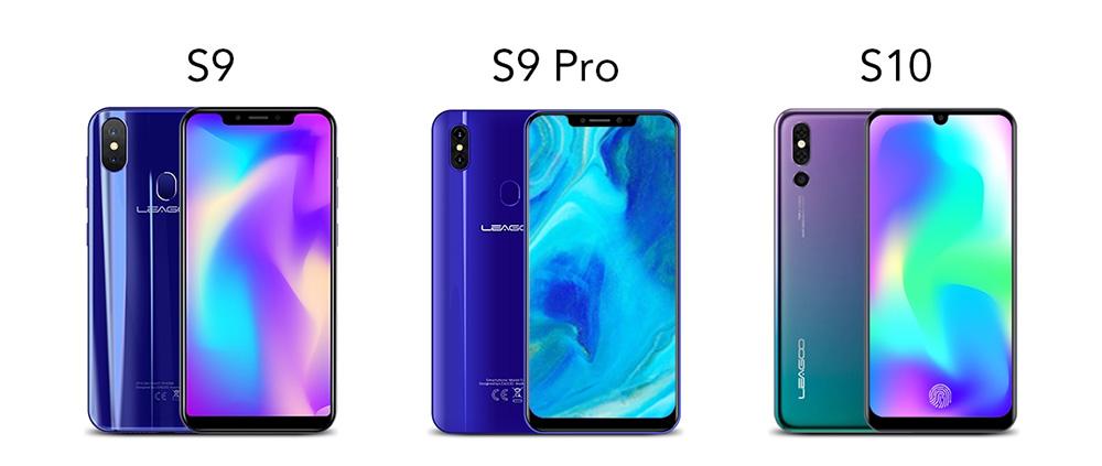 LEAGOO X, LEAGOO S9, LEAGOO S9 Pro
