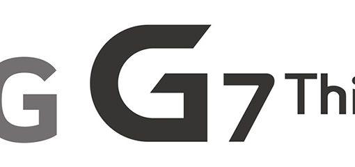 LG G7 ThinQ logotipo del nuevo insignia