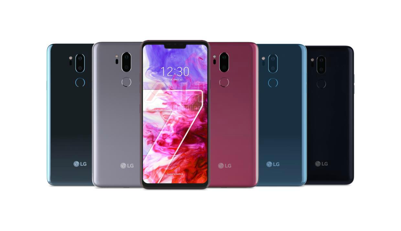 LG G7 ThinQ nuevo insignia de LG para este 2018
