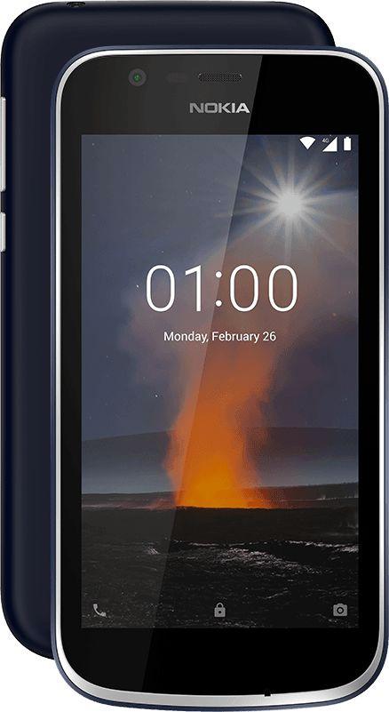 Nokia 1 en México con Android Go edition - pantalla a color touch