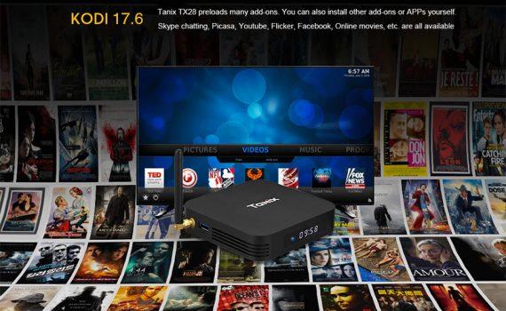 Tanix TX28 Android TV Box