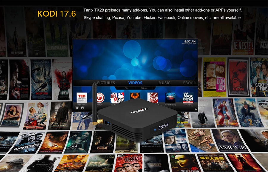Tanix TX28 Android TV Box