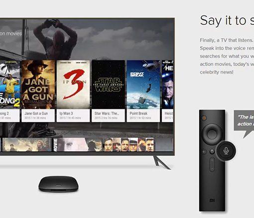 Xiaomi Mi TV Box con control y comando por voz
