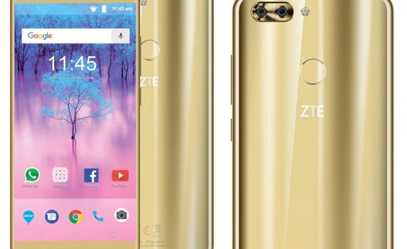 ZTE Blade V9 16 y 32 GB en México con Telcel - Android 8 Oreo, Procesador Octa Core y cámara dual