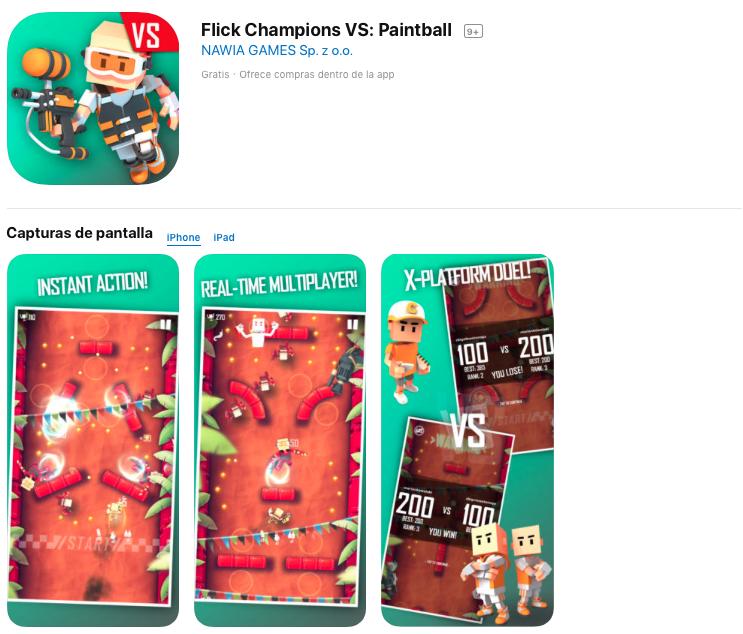 Flick Champions Paintball