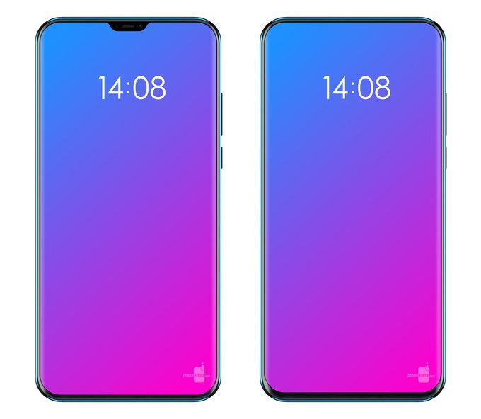 Lenovo smartphone 2018 render
