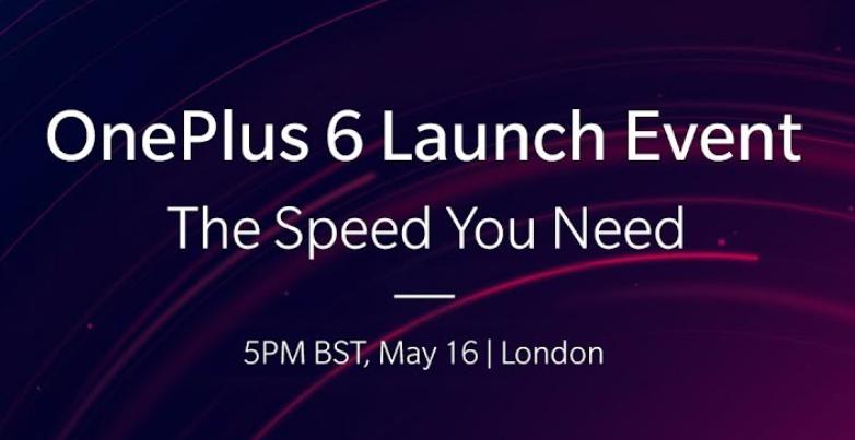 OnePlus 6 evento