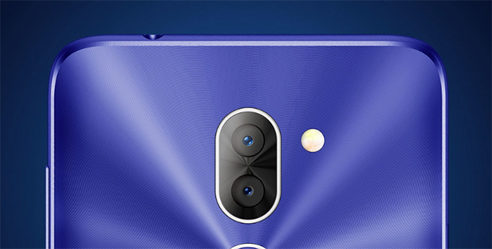 Alcatel 3X en México con Telcel - cámara posterior Dual con flash dual acercamiento