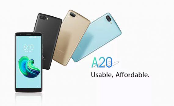 Blackview A20 un smartphone accesible de buenas especificaciones