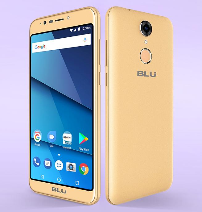 Blu View XL color oro en México