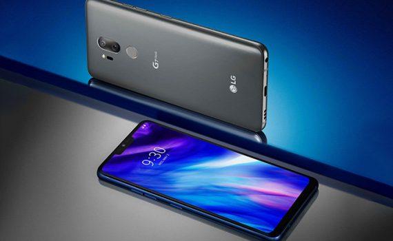 LG G7 ThinQ color gris pantalla y cámara