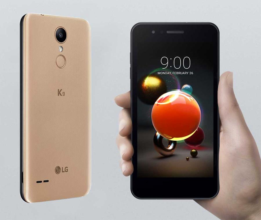 LG K9 (K8 2018) en México con Telcel