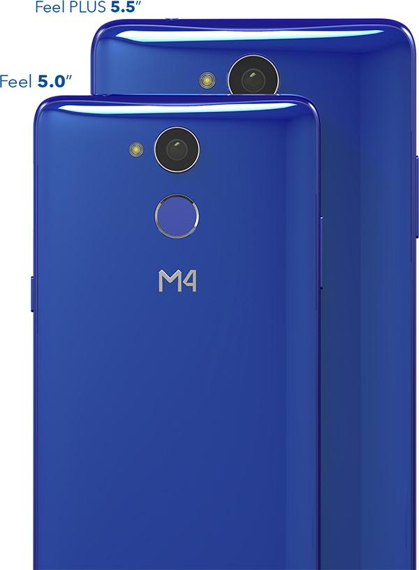 M4 Serie R1 Feel y Feel Plus - comparativa de tamaño