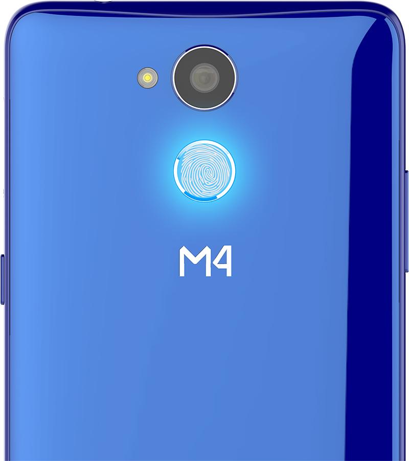 M4 Serie R1 Feel y Feel Plus - cámara posterior y lector de huellas