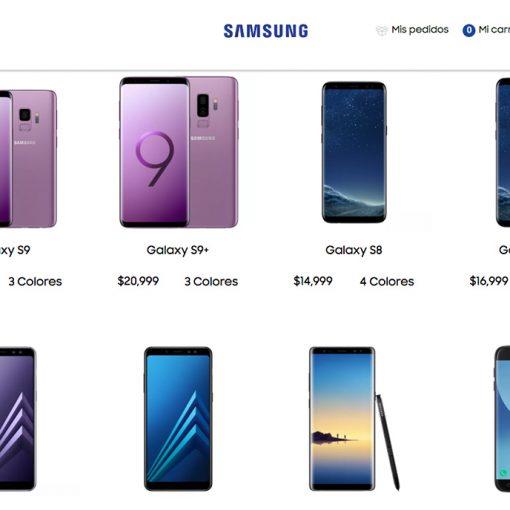 Samsung Store en México amplia su catálogo