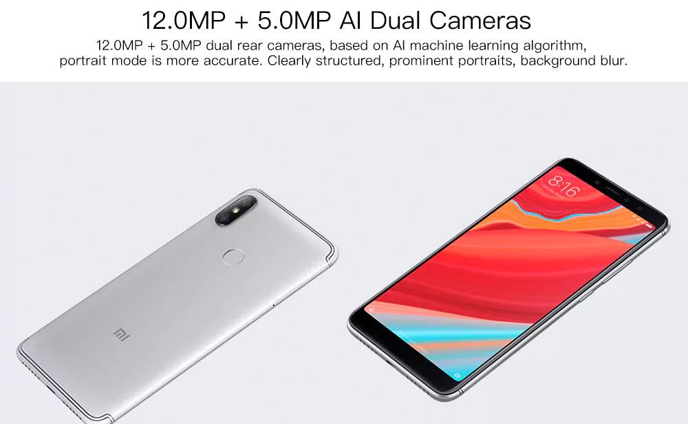Xiaomi Redmi S2 versión global - cámara y pantalla