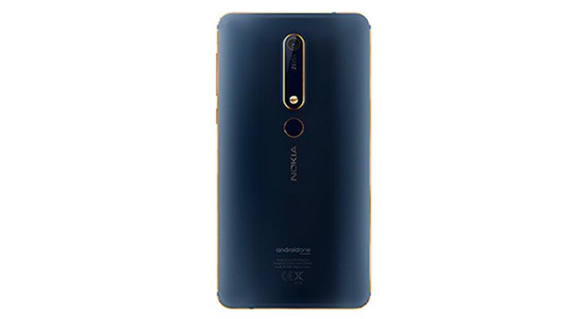Nokia 6.1 posterior