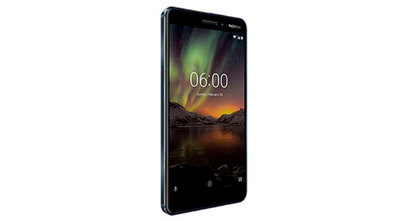 Nokia 6.1 perfil