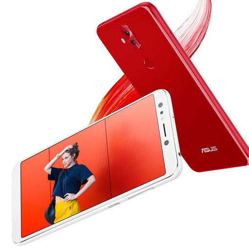 Asus Zenfone 5Q rojo