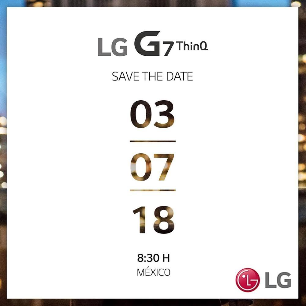 LG G7 ThinQ presentación México