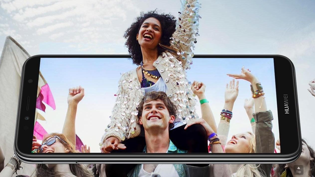 Huawei Y6 2018 pantalla