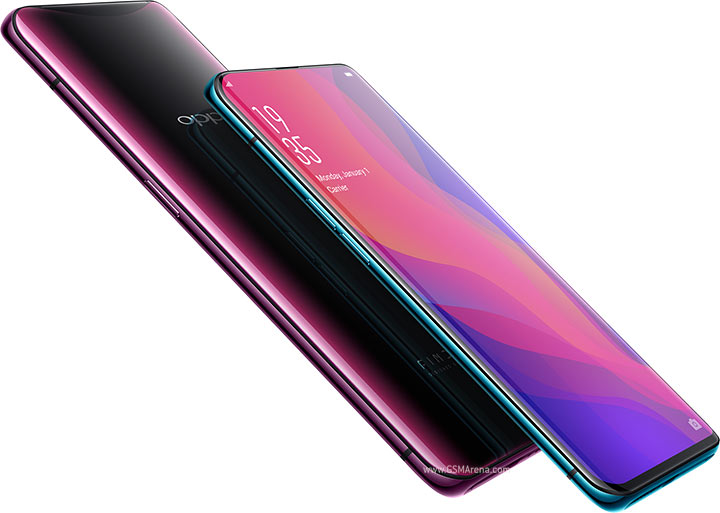 Oppo Find X equipo