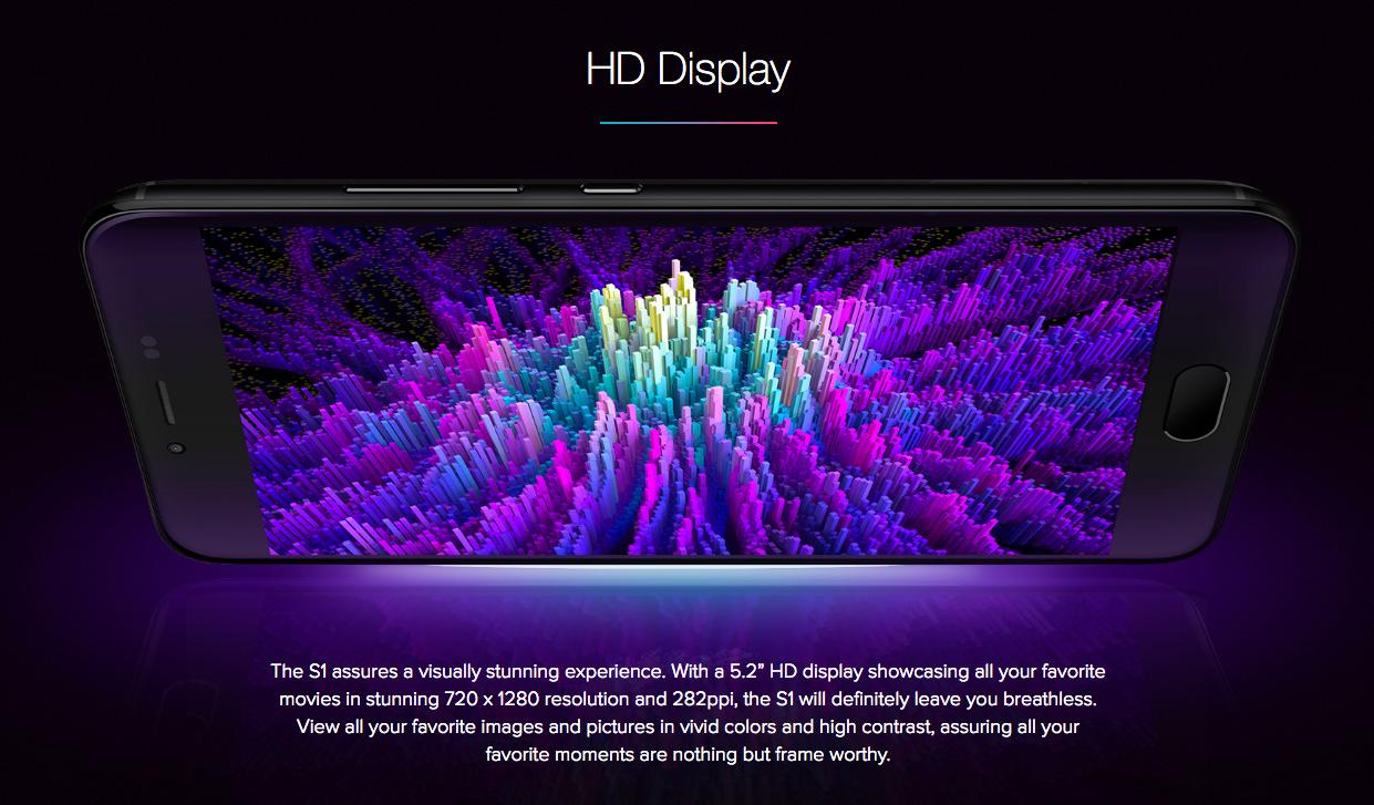 Blu S1 en México - Pantalla HD con diseño Curvo de vidrio