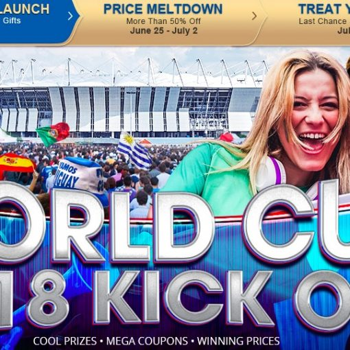 Gearbest ofertas de medio año celebrando el Mundial 2018
