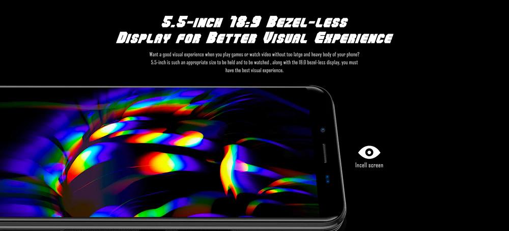 """Homtom S99 con pantalla de 5.5"""" IPS"""