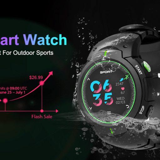 NO.1 F13 smartwatch para deportes resistente al agua y polvo en oferta limitada con envío para México