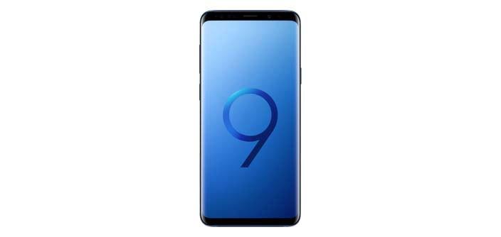 Samsung Galaxy S9+ Coral Blue de 128 GB en México