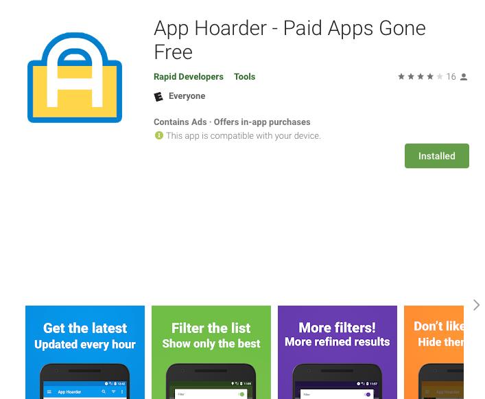 App Hoarder