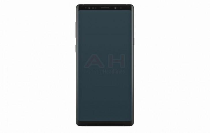 Galaxy Note 9 render