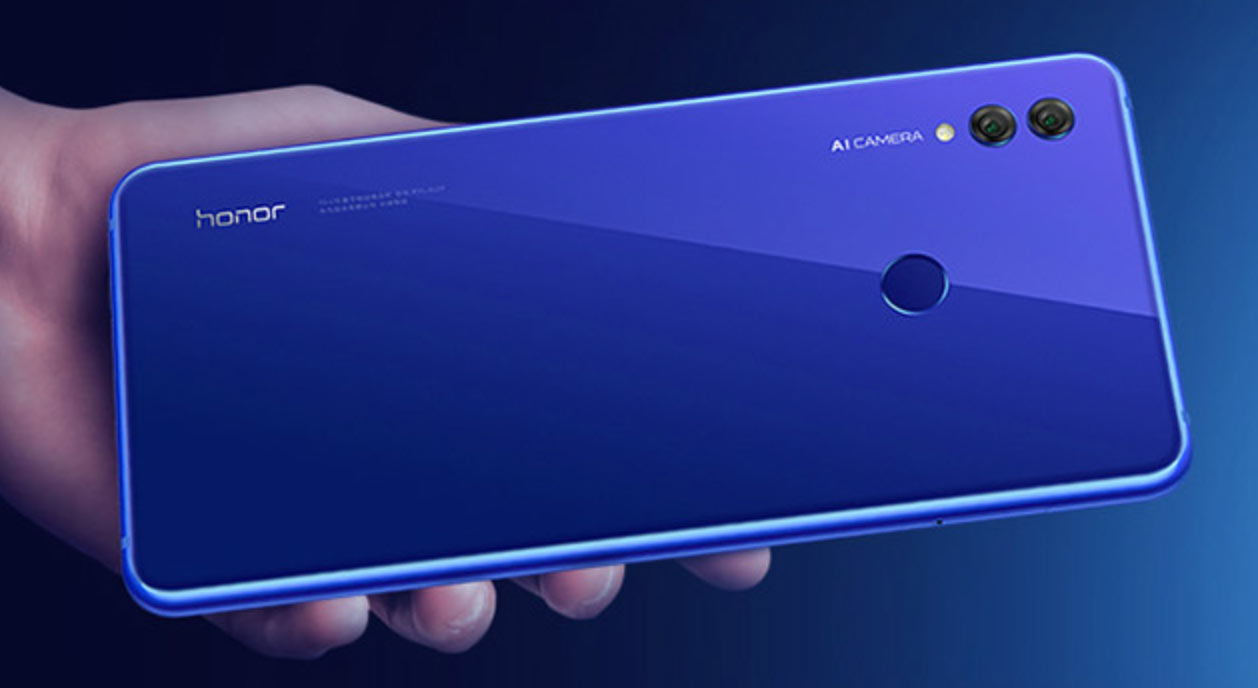 Honor Note 10 posterior