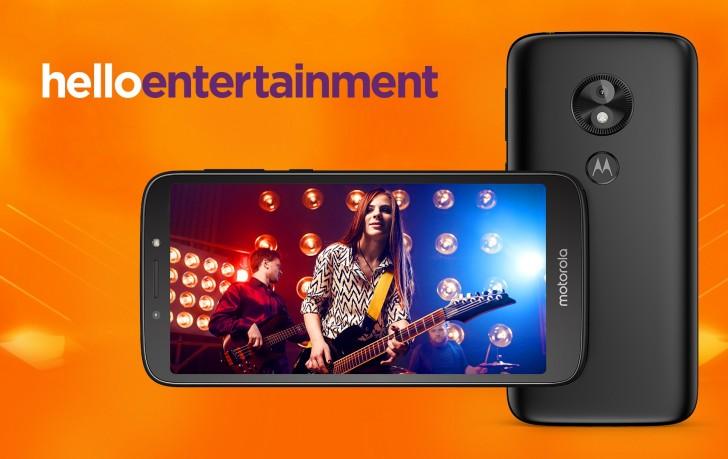Moto E5 Play Android Go equipo