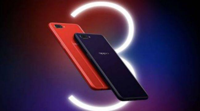 Oppo A3s smartphone