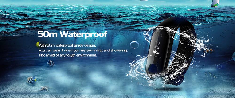 Xiaomi Mi Band 3 resistencia al agua 50M