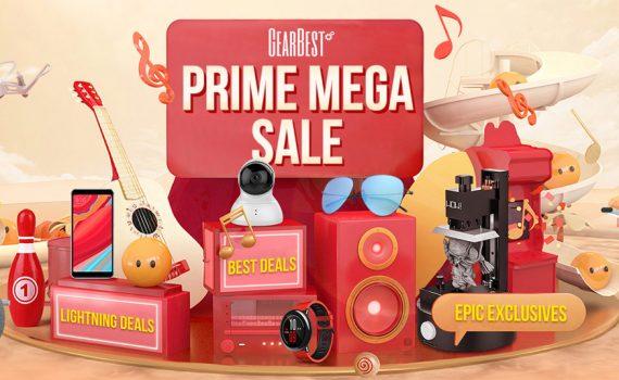 Gearbest Prime Mega Sale