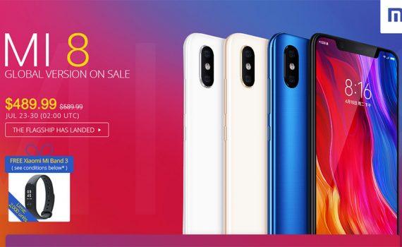 Lo más nuevo de Xiaomio en julio de 2018 en oferta con Smartband de regalo
