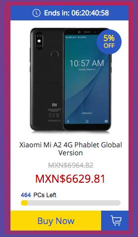 Xiaomi Mi A2 de 128 GB