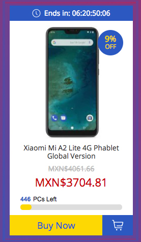 Xiaomi Mi A2 Lite de 32 GB