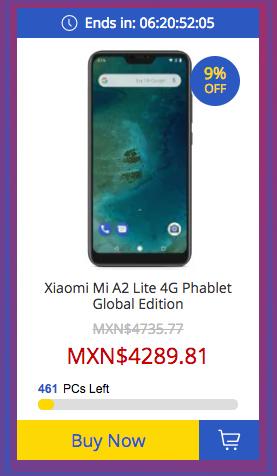 Xiaomi Mi A2 Lite de 64 GB
